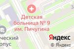 Схема проезда до компании AMAKids в Перми