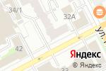 Схема проезда до компании Академия уюта в Перми