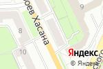 Схема проезда до компании Адвокат Рудакова Е.И. в Перми