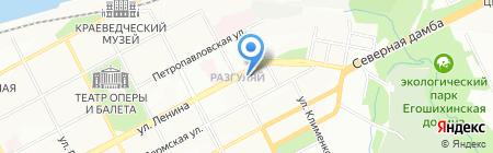 Банкомат Балтинвестбанк на карте Перми