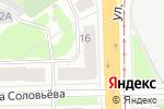 Схема проезда до компании Консилиум в Перми