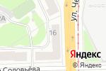 Схема проезда до компании Общественный центр Свердловского района в Перми