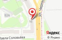 Схема проезда до компании Школа Дизайна в Перми
