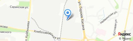 Кам-Кад на карте Перми
