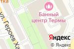 Схема проезда до компании QUESTHALL в Перми