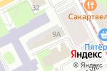 Схема проезда до компании ОЛИМП в Перми