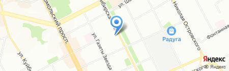 Бомонд на карте Перми