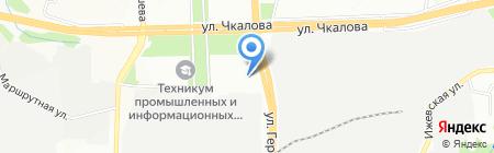 Платежный терминал Западно-Уральский банк на карте Перми