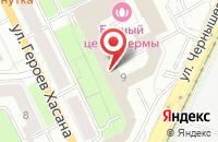 Схема проезда до компании Проспект в Перми
