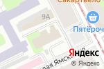 Схема проезда до компании Современные инженерные системы в Перми
