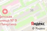 Схема проезда до компании 25 октября в Перми