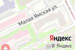 Схема проезда до компании ВДПО в Перми