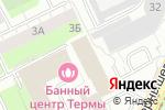 Схема проезда до компании Переезд59 в Перми