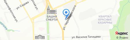 УДС на карте Перми