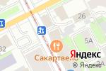 Схема проезда до компании Западно-Уральский Третейский суд в Перми