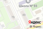 Схема проезда до компании Аленький цветочек в Перми