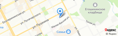САКАРТВЕЛО на карте Перми