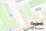 Схема проезда до компании Багажник в Перми