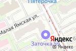Схема проезда до компании Zefir в Перми