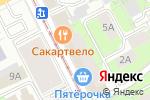 Схема проезда до компании Пермь Праздник в Перми