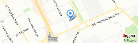 Средняя общеобразовательная школа №93 на карте Перми