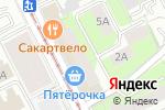 Схема проезда до компании АРТВЕЛ в Перми