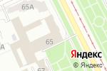 Схема проезда до компании Городские зрелищные кассы в Перми