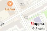 Схема проезда до компании Златоцвет в Перми
