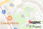 Схема проезда до компании ДЭККо в Перми