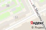 Схема проезда до компании Галерея Табака в Перми