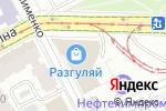 Схема проезда до компании Песочная страна в Перми