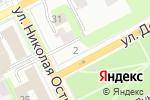 Схема проезда до компании BSR centre в Перми