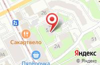Схема проезда до компании Пермский Фонд Социальной Стабильности в Перми