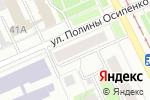 Схема проезда до компании Лилия в Перми