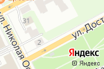 Схема проезда до компании Студия в Перми