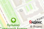 Схема проезда до компании Черемных и партнеры в Перми