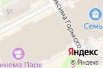 Схема проезда до компании Rinascimento в Перми