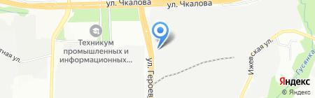 ДВК КОМ на карте Перми