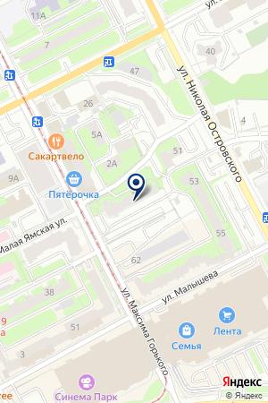 ПЕРМСКАЯ АУДИТОРСКАЯ ПАЛАТА на карте Перми
