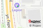 Схема проезда до компании Завод им. Фрунзе в Перми
