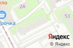 Схема проезда до компании Клуб юристов в Перми