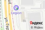 Схема проезда до компании Стандарт в Перми