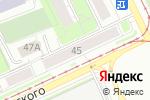 Схема проезда до компании Радуга-Н в Перми
