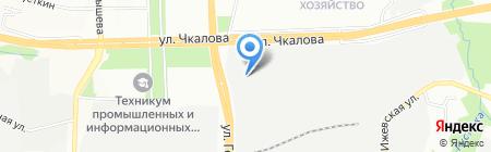 СкайЛайн на карте Перми