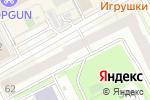 Схема проезда до компании Территория в Перми