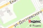 Схема проезда до компании Kazantsev-design в Перми