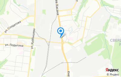 Местоположение на карте пункта техосмотра по адресу г Пермь, ул Героев Хасана, д 52А