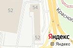 Схема проезда до компании GODZILLA в Перми