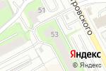 Схема проезда до компании Республика в Перми