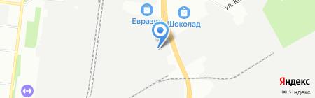 Линкер на карте Перми